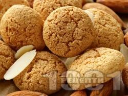 Бадемови бисквити с канела - снимка на рецептата